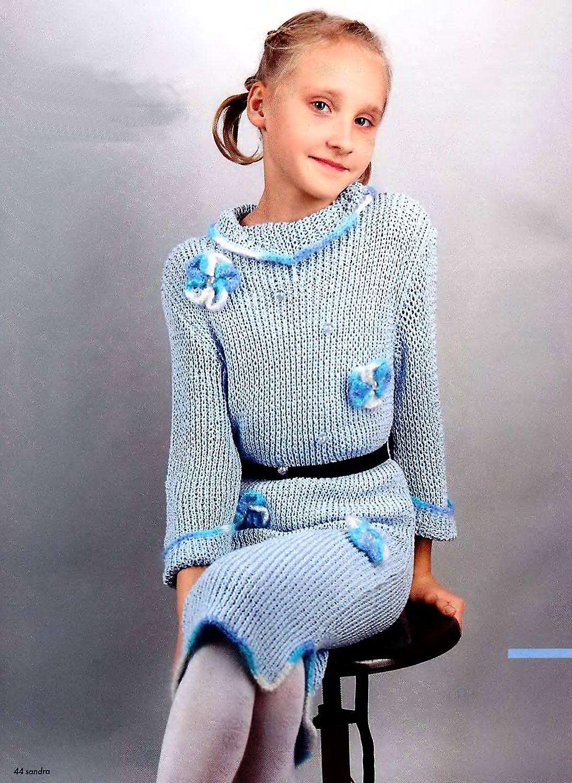 Вещи для девочки 6 лет крючком схема