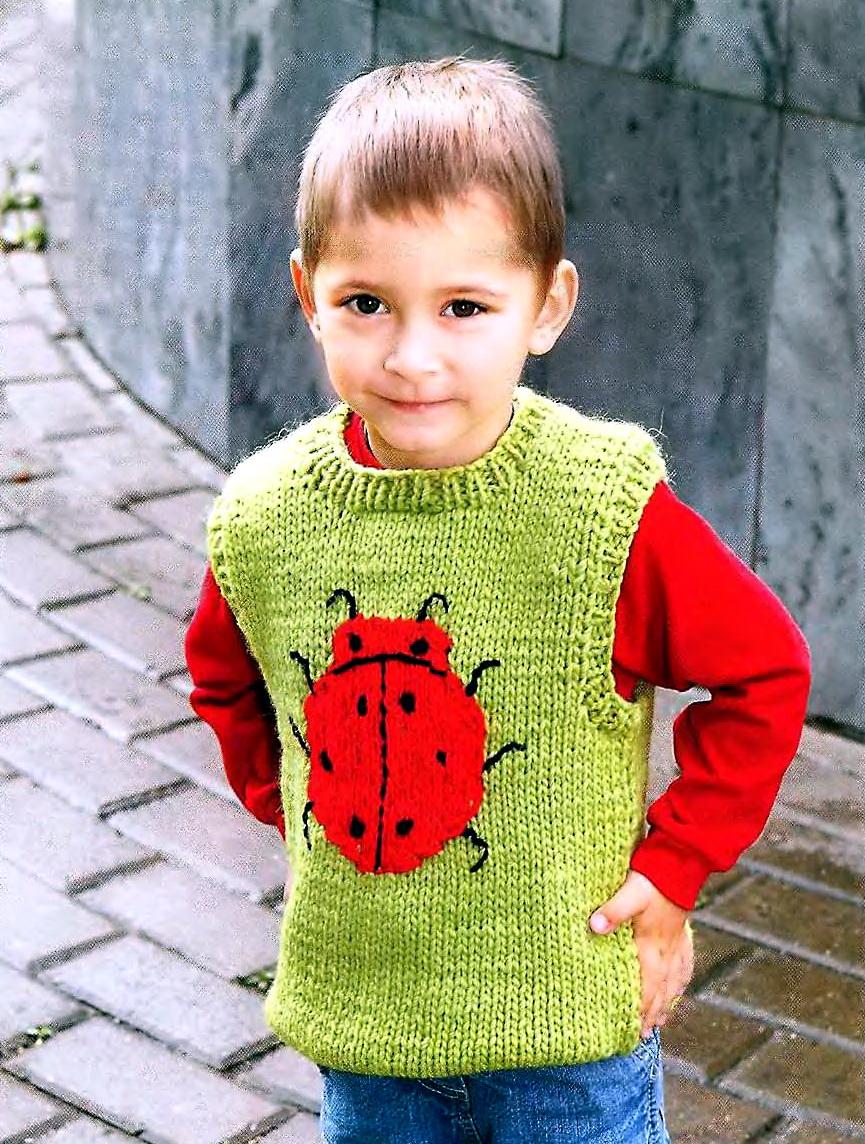 Схемы Вязания Детской Одежды Спицами