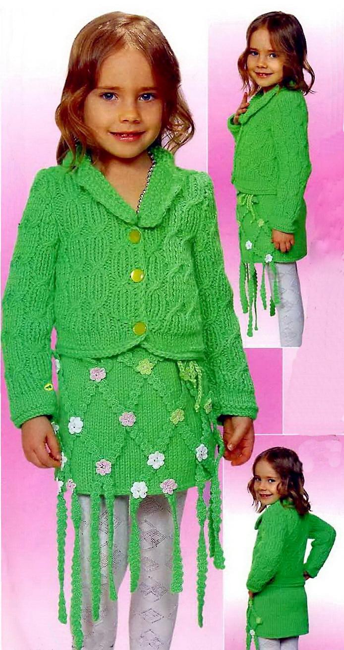 Вязанные костюмы для детей