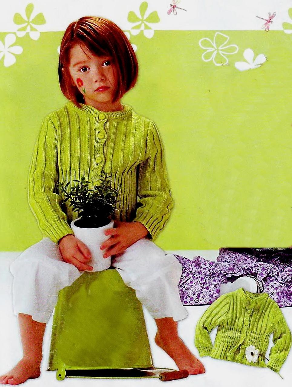 Ручные вязанья для детей 744