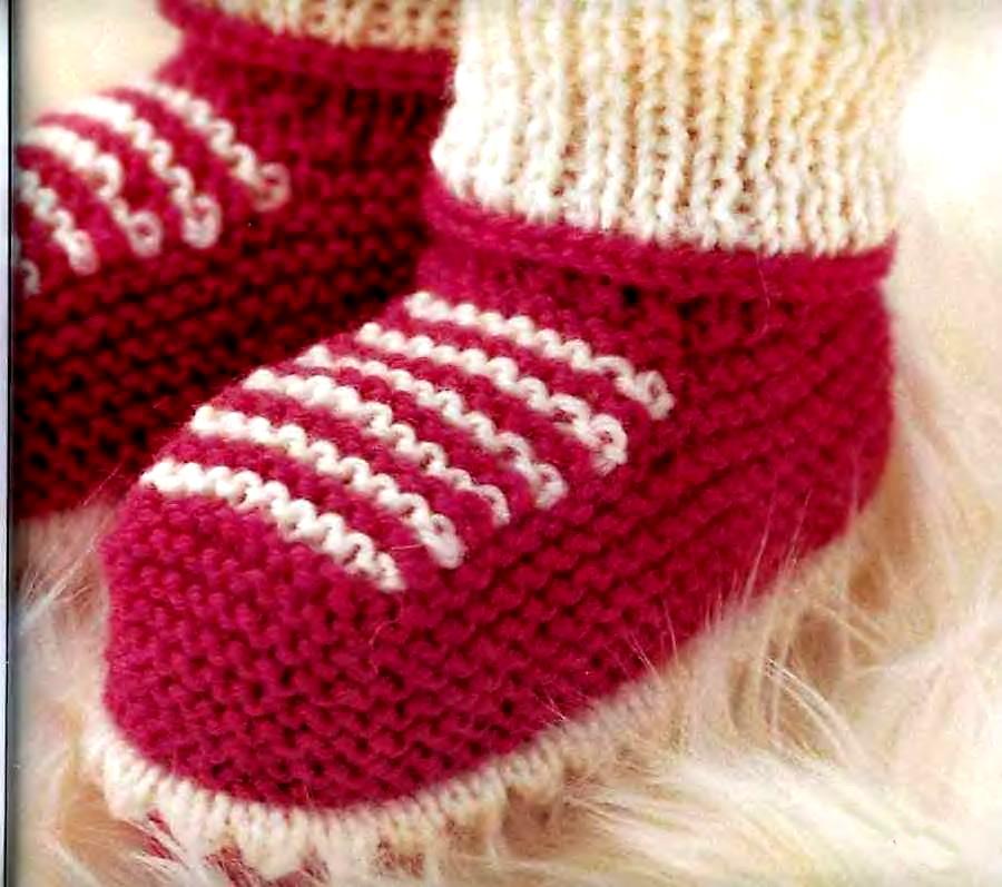 Самое легкое вязание пинеток