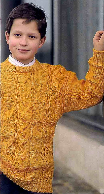 Практичный пуловер для
