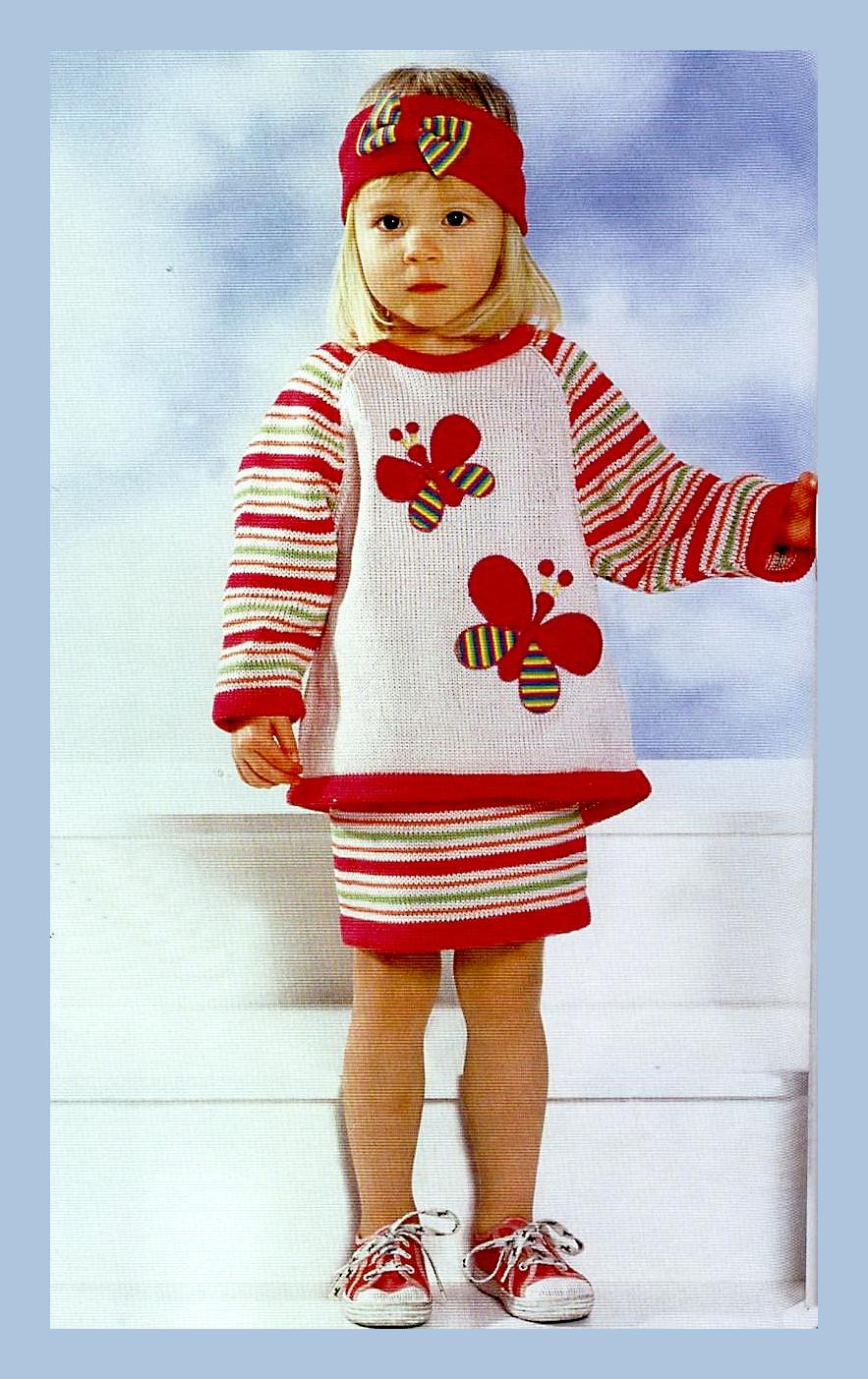 Вязание спицами для детей до 1 года с описанием и жилет