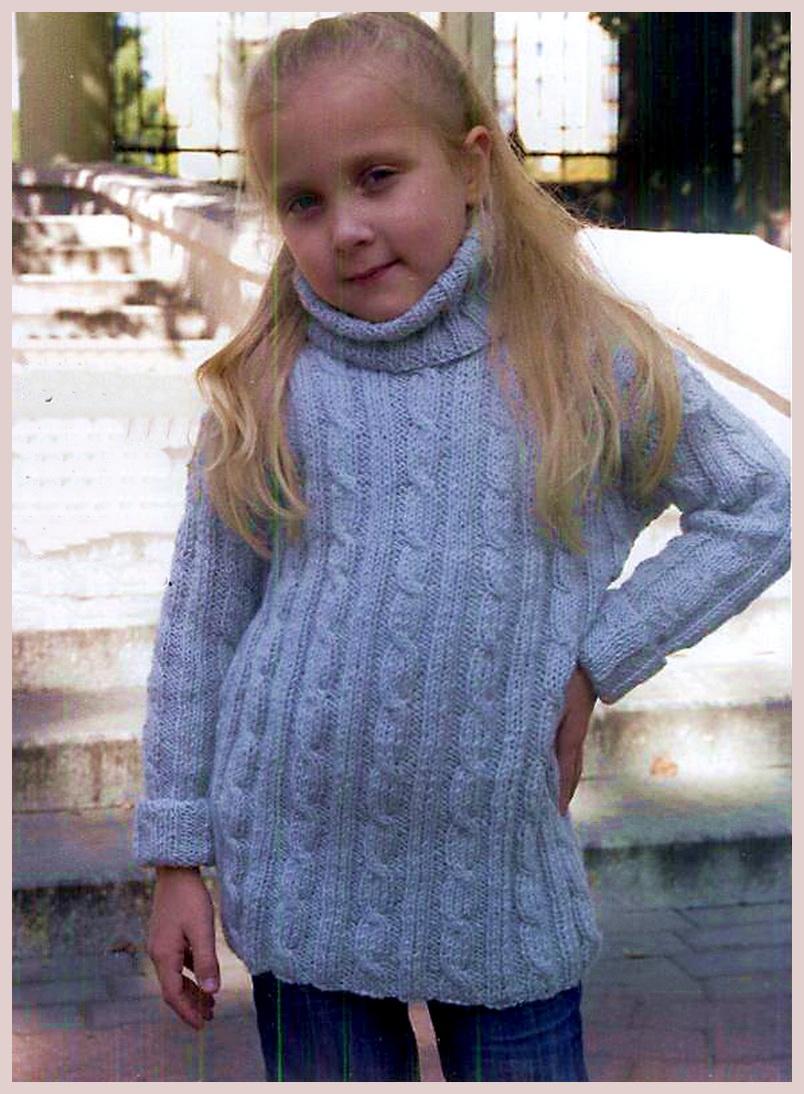 шерстяной свитер Girandola для девочки
