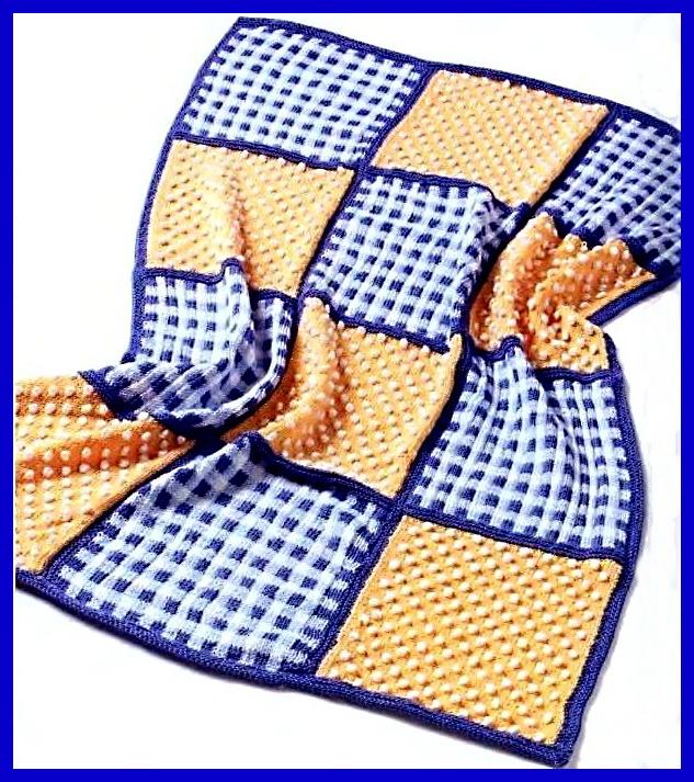 Вязание одеял и пледов для малышей - Вязание малышам - Вязание для