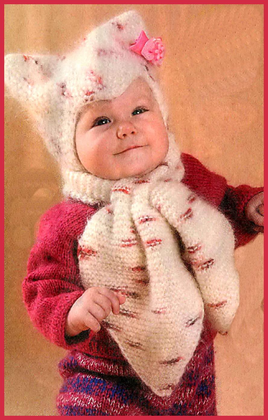 Вязание шапок для малышей - Вязание малышам - Вязание для малышей