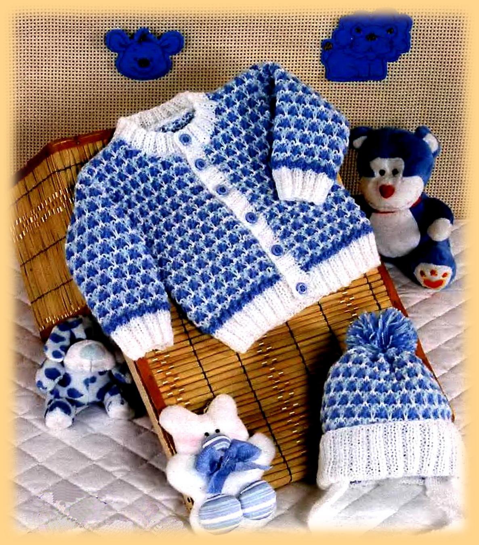 Вязание кофта для мальчика новорожденным