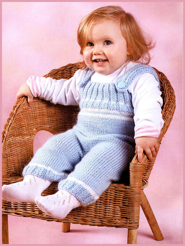 Вязание штанишек для 3 лет