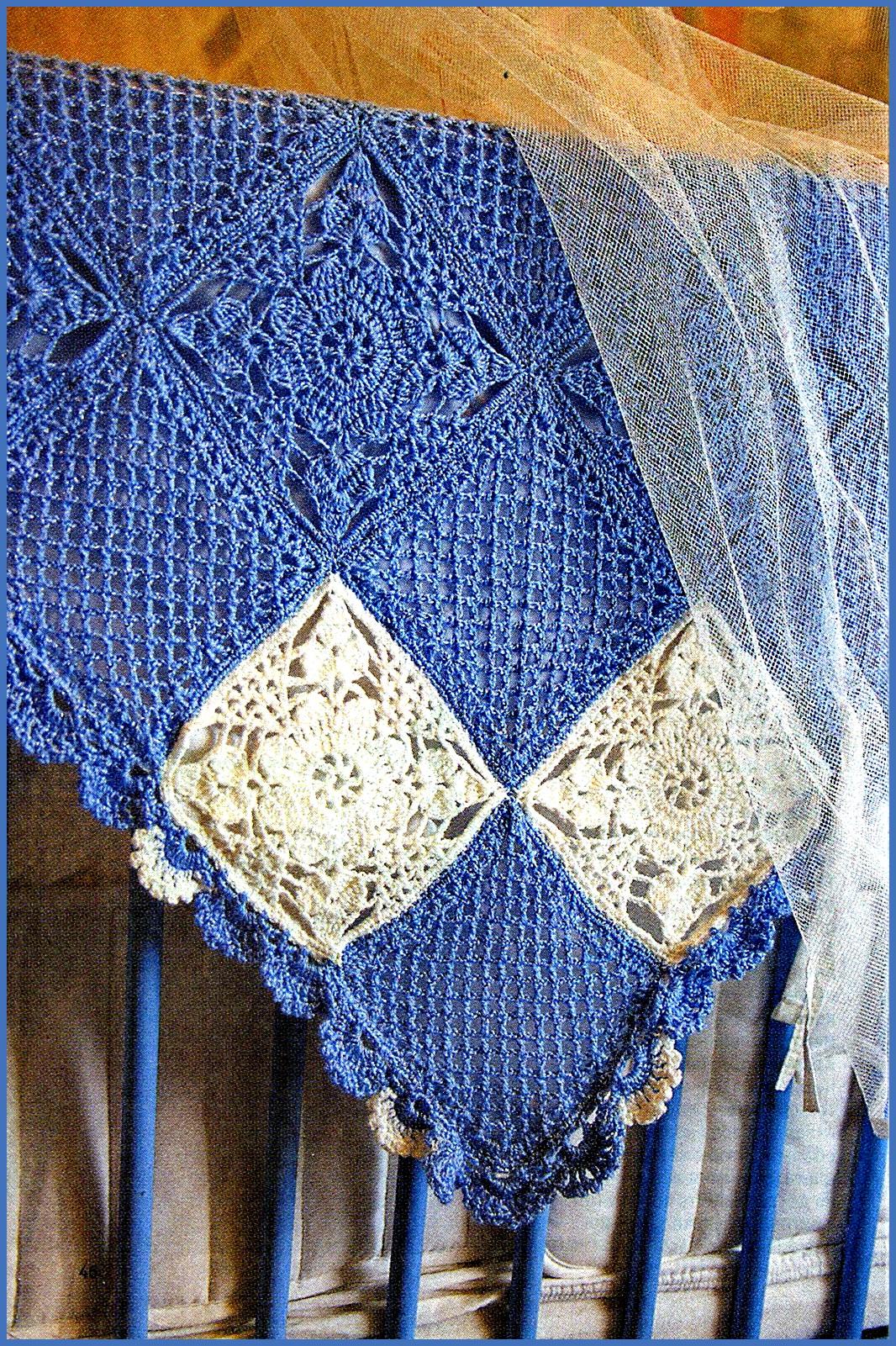 схемы вязания спицами и крючком для