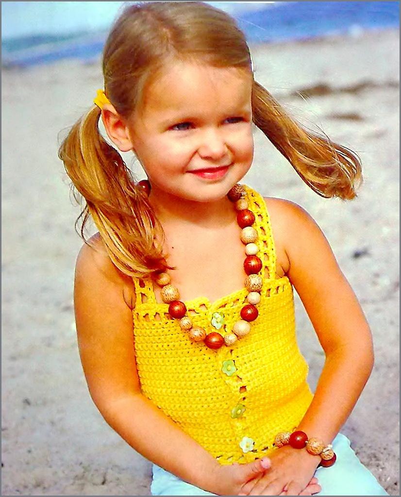 Вязание топов для девочек вязание девочкам вязание для малышей