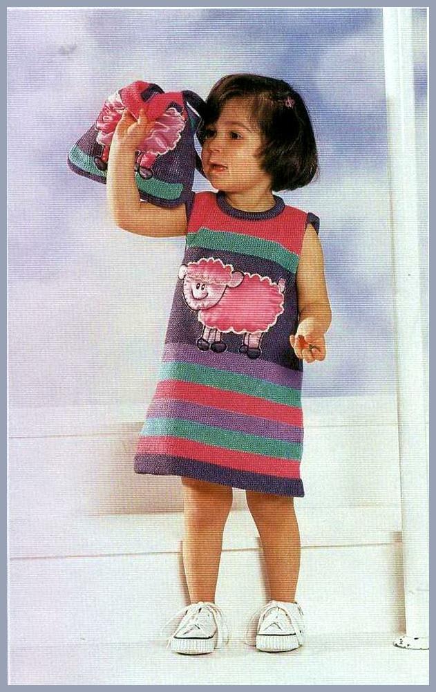 Нарядное детское платье спицами платья малышке Pinterest Платье 32