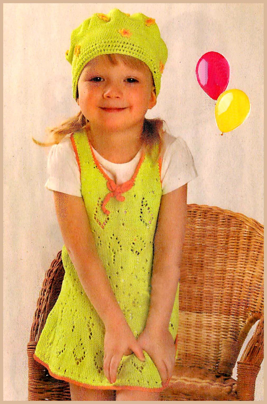 Нарядное детское платье спицами платья малышке Pinterest Платье 92