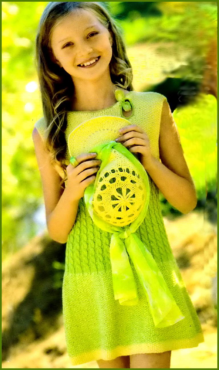 Нарядное детское платье спицами платья малышке Pinterest Платье 50