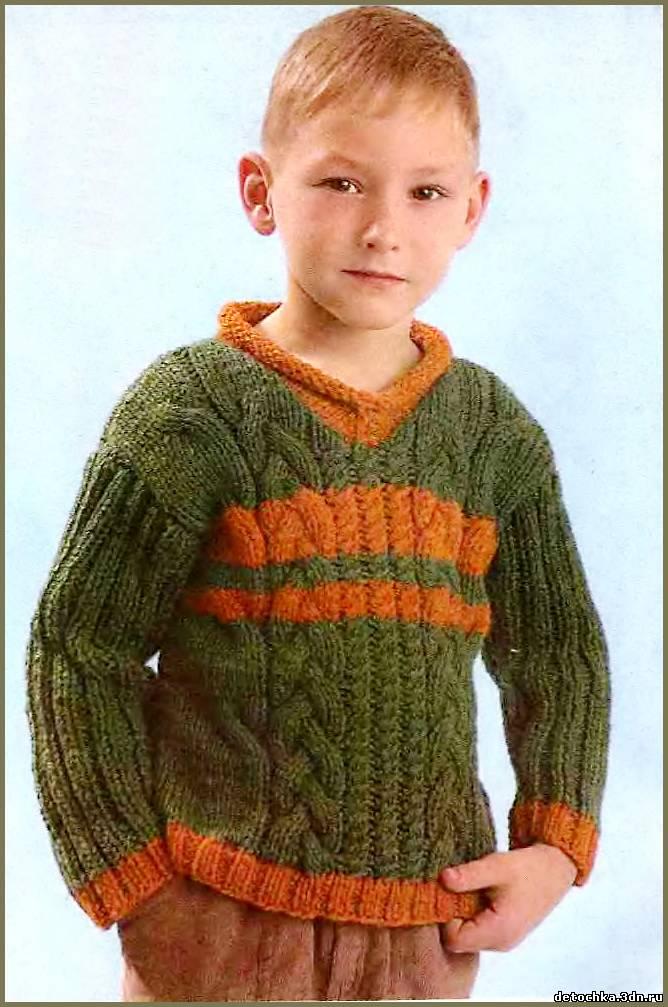 Детский пуловер для мальчика
