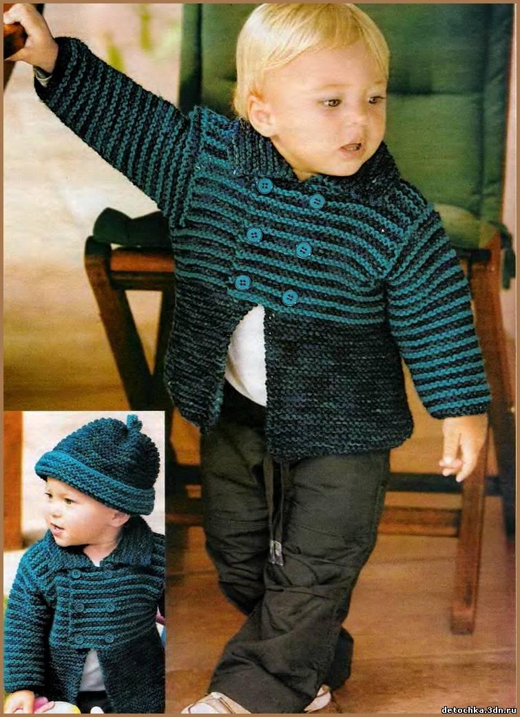 Вязание жакет для мальчика 5 лет 942