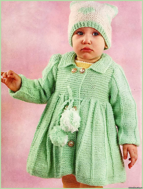 схема платья для малышки спицами