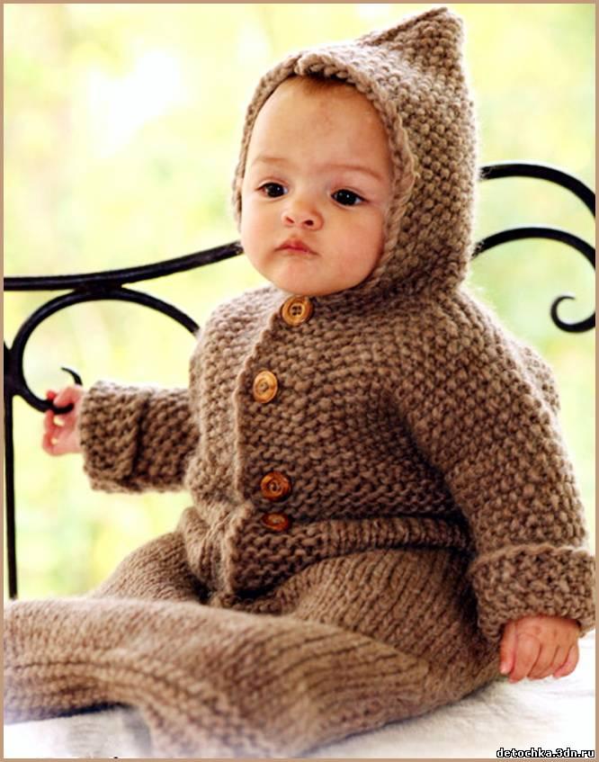 Вязание для малышей.
