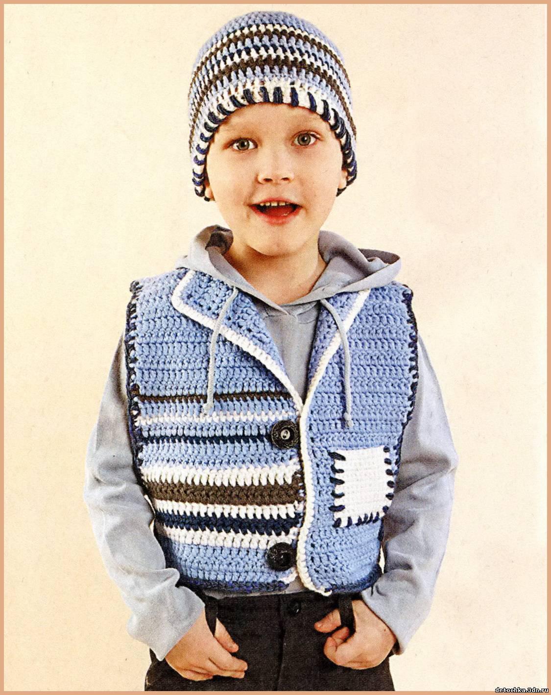 Вязание мальчикам 8-9 лет