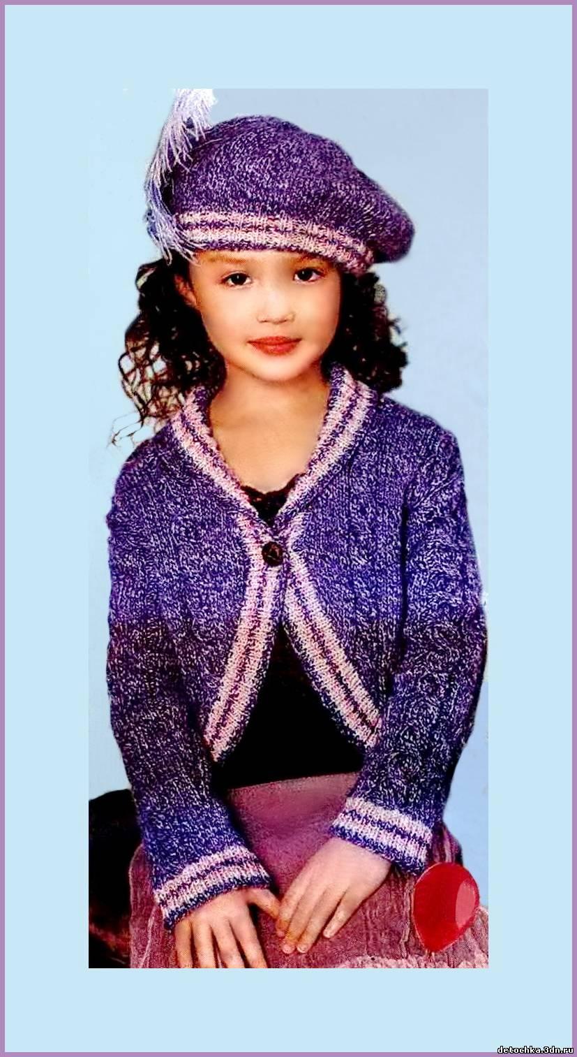 вязание ажурных юбок спицами для девочек