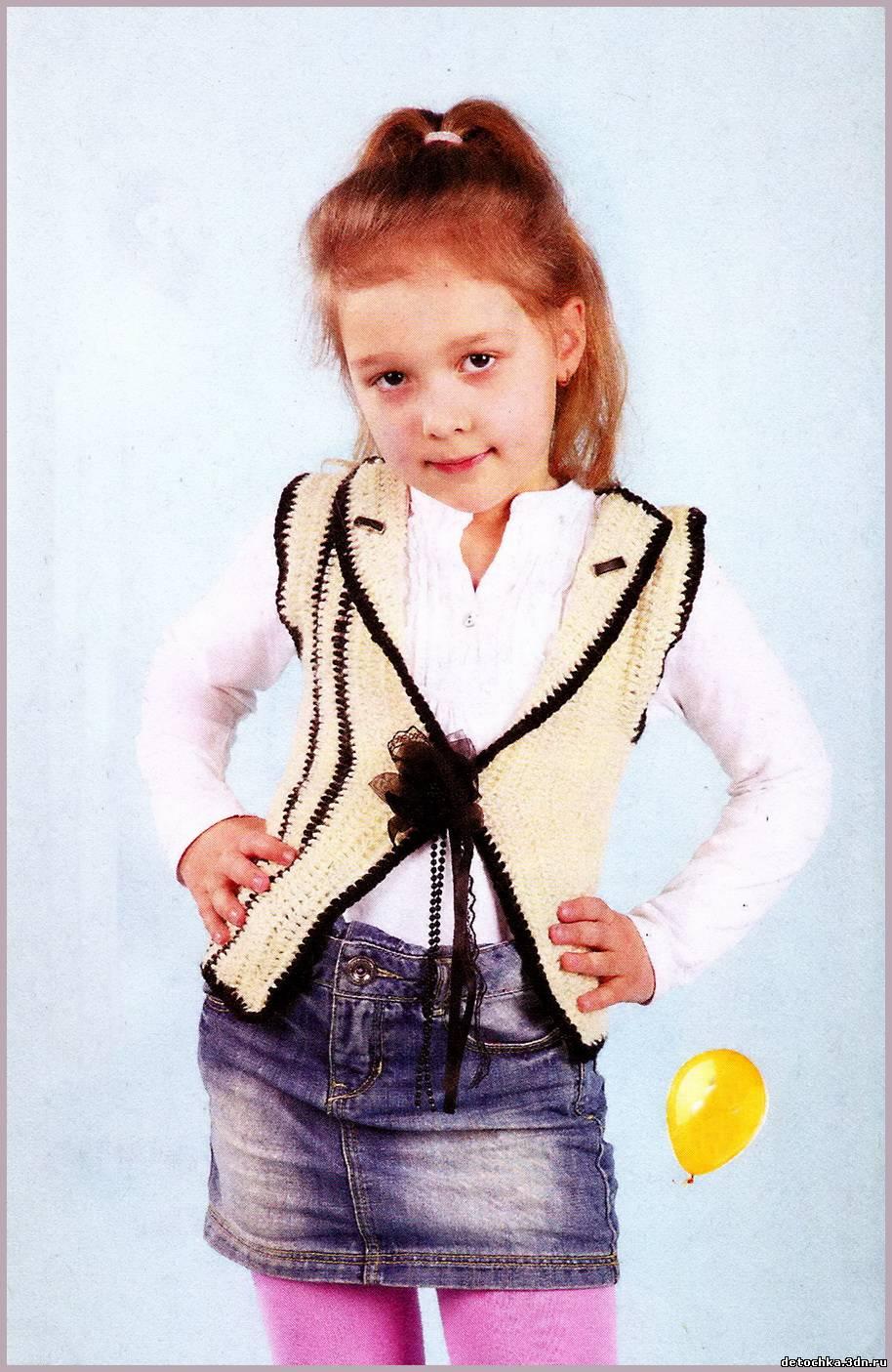 Для девочки вязание для детей