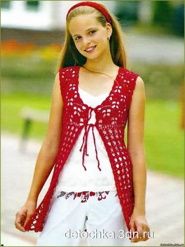 Вязание для подростков.
