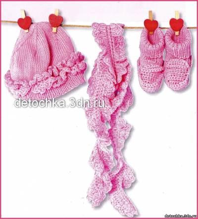 для малышки. Вязание для малышей
