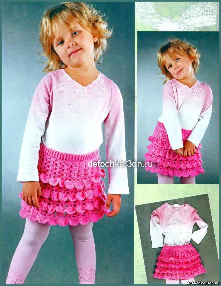 Юбки для девочек 3 лет