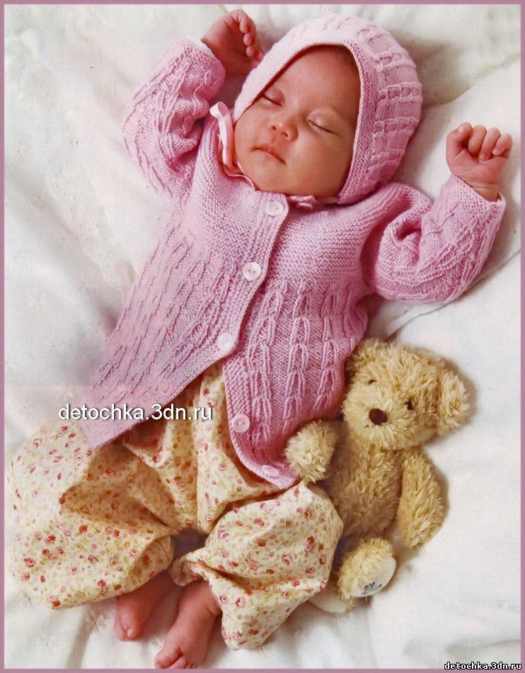 для новорожденных. вязание