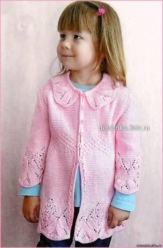 Для вязания детской кофточки