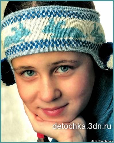 Вязание крючком детская шапочка летняя для девочек