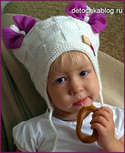 Вязание шапок для девочек подростков схемы 510