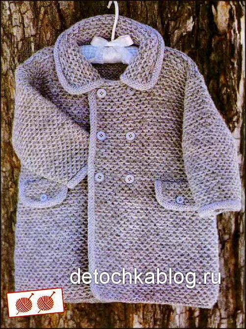 вязаные пальто и курточки для малышей вязание малышам вязание